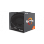 RYZEN 3 1200 4-CORE 3.4 GHZ TURBO 8MB L3 CACHE PACKAGE 65W: AM4 SOCKET WITH COOLING FAN