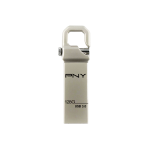 PNY 128GB HOOK ATTACHE MOBILE DISK DRIVE USB 3.0